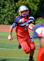 9/28/14 14U RED PATRIOTS VS HYDE PARK SPARTANS